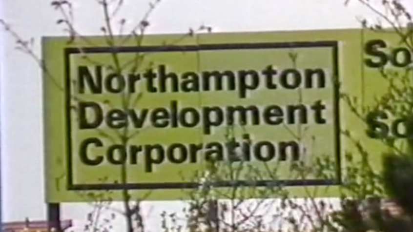 Northampton Development Corporation Green Sign NDC